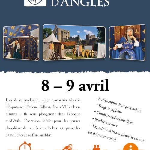 Affiche médiévale 8-9 avril